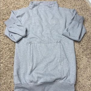 gymshark mock neck pull over